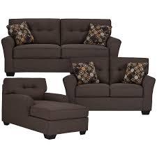 Microfiber Living Room Set City Furniture Laryn Dark Gray Microfiber Living Room
