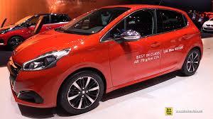 peugeot 208 2016 2016 peugeot 208 allure bluehdi 100hp s u0026s exterior interior