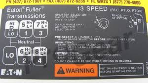guide g27 and eaton fuller 13 speed transmission scs software
