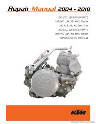 ktm motorcycle manuals repair manuals online