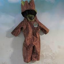 Tree Halloween Costumes Baby Groot Tree Costume 3 Piece Eraofmakebelieve