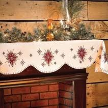 mantel scarf seasonal christmas mantel scarves shelf runners simply