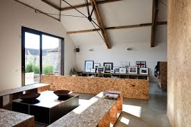 Barns Turned Into Homes by Barns Converted Into Homes With Contemporary Sloping Ceiling