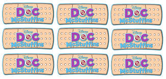 Doc Mcstuffins Home Decor by 9 Doc Mcstuffins Stickers Band Aids And 50 Similar Items
