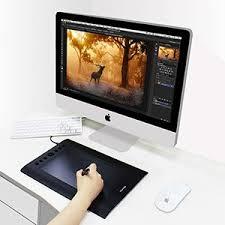 wacom intuos amazon black friday amazon com huion h610pro painting drawing pen graphics tablet