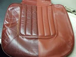 roll royce leather project to restore a classic rolls royce interior leather seat