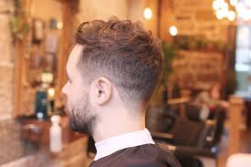 haircut for curly hair male men u0027s fade haircut for curly hair