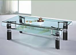 cool glass coffee tables u2013 high grade glass table top material