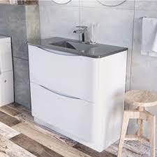 Free Standing Vanity Units Bathroom Freestanding Vanity Units Ceramic Glass U0026 Resin Easy Bathrooms