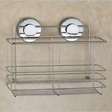 Suction Cup Bathroom Shelf Hi Tec Suction Cup Bathroom Shower Caddy Shelf Kitchen Storage