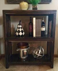 Pallet Wood Bookshelf Pallet Wood Bookcase Or Storage Unit 101 Pallets