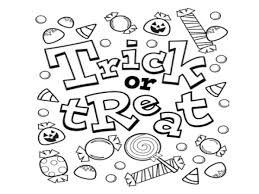 marvelous design halloween color page coloring pages free itgod me