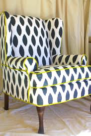 chairs white with floral design upholstered accent chairs for