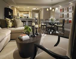 decorating ideas for open living room and kitchen small open kitchen and living room design centerfieldbar com
