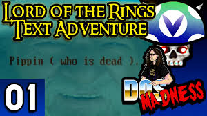 vinesauce joel lord of the rings text adventure part 1
