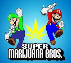 super marijuana bros mario bros spoof weed memes