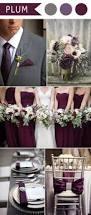 Pinterest Color Schemes by Best 25 Plum Wedding Colors Ideas On Pinterest Plum Wedding