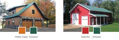 Regal Barn Pole Barn Colors Exterior Siding Windows U0026 Doors Lester Buildings