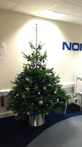 Blue Christmas Trees Decorating Ideas - decorated christmas trees from superplants superplants