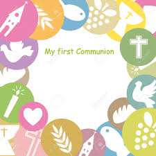 Confirmation Invitation Cards First Communion Invitation Card Royalty Free Cliparts Vectors