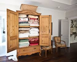armoire wardrobe storage cabinet antique armoire turned linen closet cedar hill farmhouse