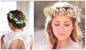 flower hair stylish ways of floral wedding hairstyles for pretty what