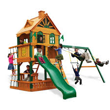 decorating awesome gorilla swing sets for kids play yard decor