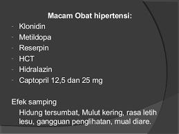 Obat Hct pengantar farmakologi