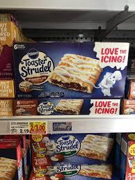 Toaster Strudel Ad Kroger Pillsbury Toaster Strudel Only 1 Reg 2 19 Free