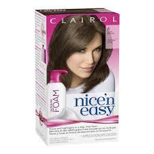 clairol nice u0027n easy color blend foam hair color 6 light brown 1