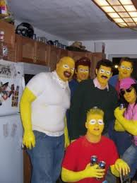 Halloween Costumes Simpsons Halloween 2007 Collegehumor Toplist