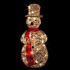 Metal Standing Christmas Decorations by Lighted Outdoor Decorations Lighted Winter Decorations