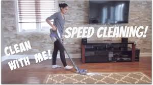 Clean My House Speed Cleaning My House After The Weekend Sahm Youtube