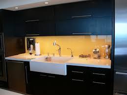 Kitchen Backsplash Marvelous Orange Back Painted Glass Kitchen