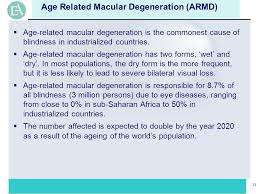 Does Macular Degeneration Always Lead To Blindness Ophthalmology Clinical Research Ppt Download