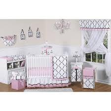 Jojo Crib Bedding Set Sweet Jojo Designs Princess Black White And Pink Collection 11