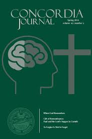 concordia journal spring 2016 by concordia seminary issuu