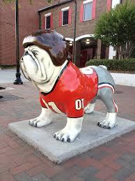 athens bulldog statues painted animals pinterest athens