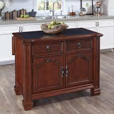 small portable kitchen islands home styles santiago cognac kitchen island with granite top 5575