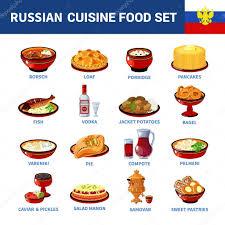 une russe en cuisine icônes russes cuisine vaisselle plate collection image