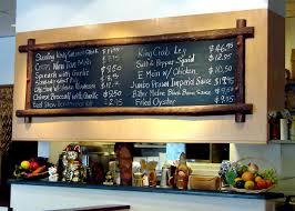 Chalkboard Ideas For Kitchen Magnificent 60 Slate Restaurant Decor Decorating Inspiration Of