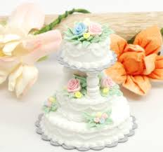 wedding cake kit 1 12 wedding cakes kit stewart dollhouse creations