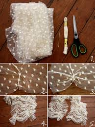 diply com diy lace scarf in 4 easy steps fun things to make