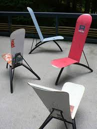 skateboard chairs 20 cool and fresh skateboard recycled ideas house design and decor