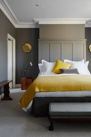 Yellow And Gray Decor by Gray And Yellow Bedroom Boncville Com
