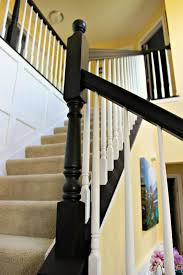 Staircase Update Ideas Updating A 90 U0027s Staircase Our Home Pinterest Staircases