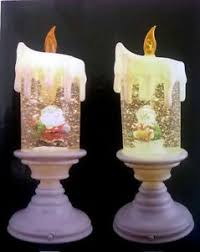 light up christmas candles modern light up christmas candle snow globe santa snowman christmas