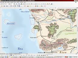 Odyssey Map New Expansion Pack Baldur U0027s Gate Path Of The Lost Odyssey