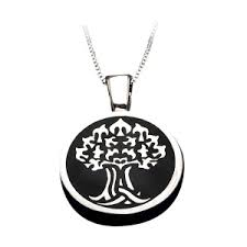 urn pendant tree of memorial urn pendant cremation jewelry