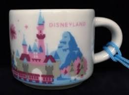 you are here ornament disney disneyland starbucks mugs